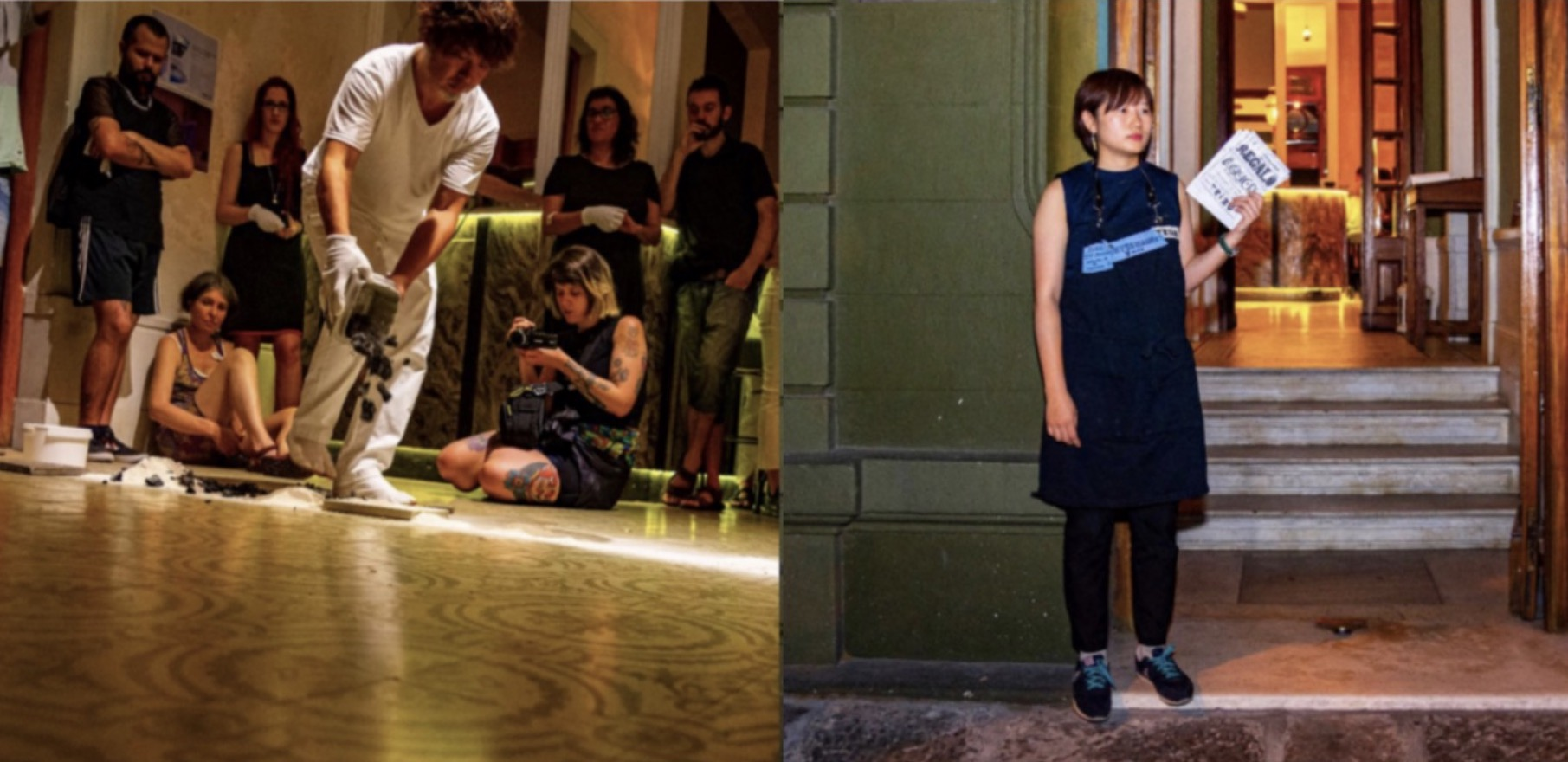 ipamia event 9 : 南米のパフォーマンスアートの活動報告 Presentation : Performance Art in South America